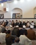 تجمع طلاب وروحانیون درمحکوم نمودن شهادت شیخ نمرباقرالنمر